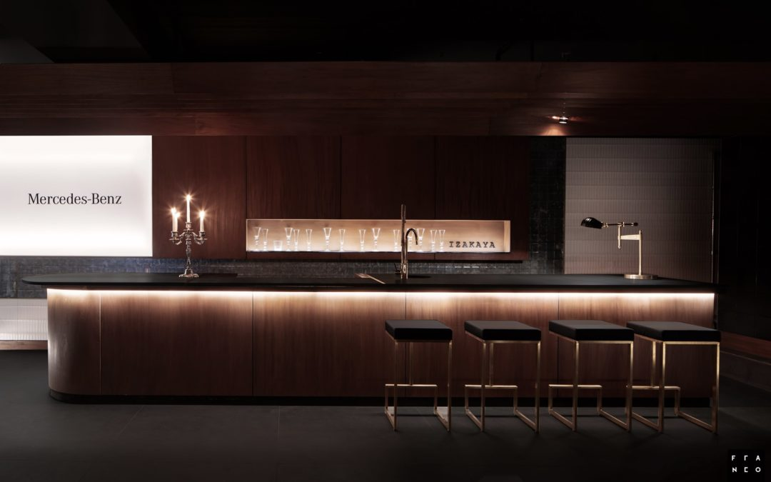 Mercedes – Benz Lounge by Aparici